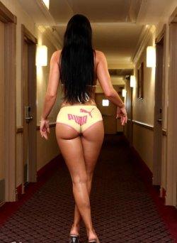 sexy round ass